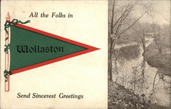 All the Folks in Wollaston Send Sincerest Greetings