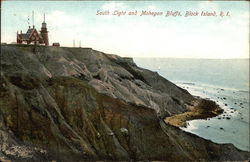 South Light and Mohegan Bluffs