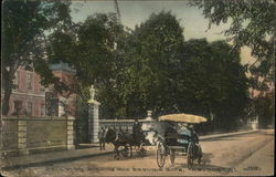 Belleview Avenue and Berwind Gate