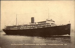 S.S. Alleghany Merchants and Miners Transportation Co.