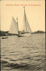 Yachting on the Kennebec