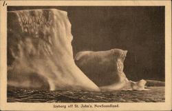 Iceberg off St, John's, Newfoundland