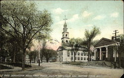 First Parish Church and Lyceum Hall