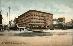 View of Commonwealth Hotel