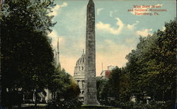 West State Street and Soldiers Monument