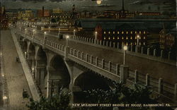 New Mulberry Street Bridge by Night