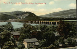 Penn. R.R. Line and Rockville Bridge