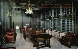 Post Office in House of Chamber, Pennsylvanias new Capitol
