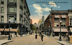 North Fourth Street, looking Towards Capitol