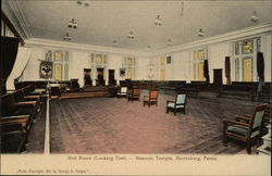 Red Room (Looking East) - Masonic Temple