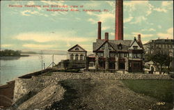 Fleming Residence and Bird's-eye View of Susquehanna River