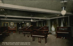 Player Piano and Grand Piano Parlors, J.H. Troup Music House