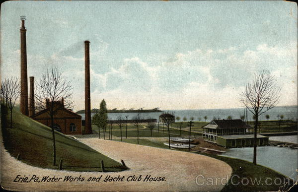 Water Works and Yacht Club House Erie Pennsylvania