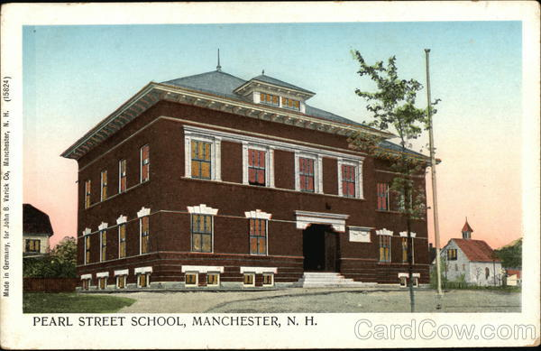 Pearl Street School Manchester New Hampshire
