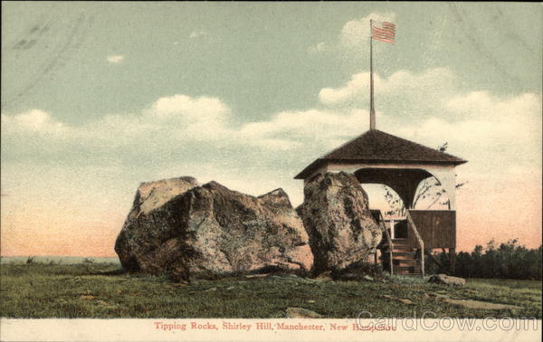 Tipping Rocks, Shirley Hill Manchester New Hampshire