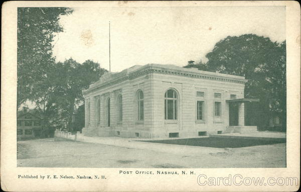 Post Office Nashua New Hampshire