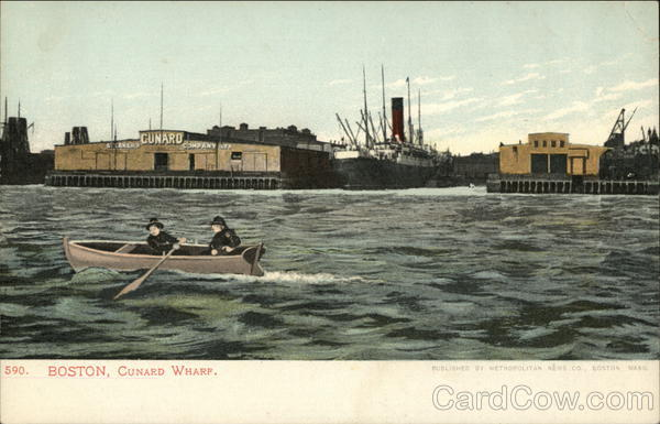 Cunard Wharf Boston Massachusetts