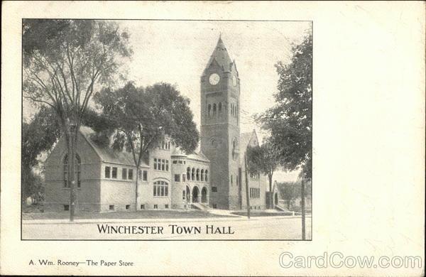 Winchester Town Hall Massachusetts