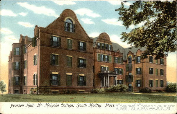 Pearson Hall, Mt. Holyoke College South Hadley Massachusetts