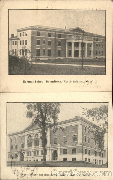 Normal School Dormitory and Building North Adams Massachusetts