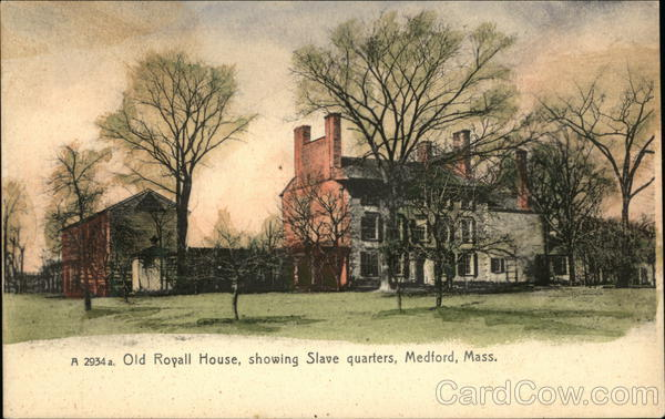 Old Royall House, Showing Slave Quarters Medford Massachusetts