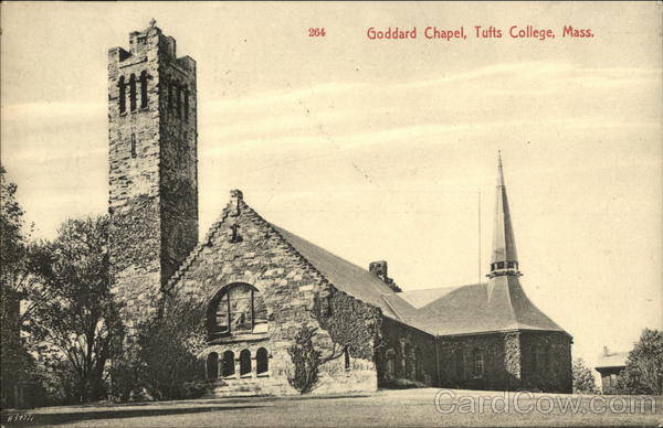 Goddard Chapel at Tufts College Tufts University Massachusetts