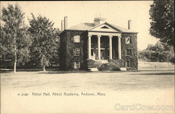 Abbot Academy - Abbot Hall Andover Massachusetts