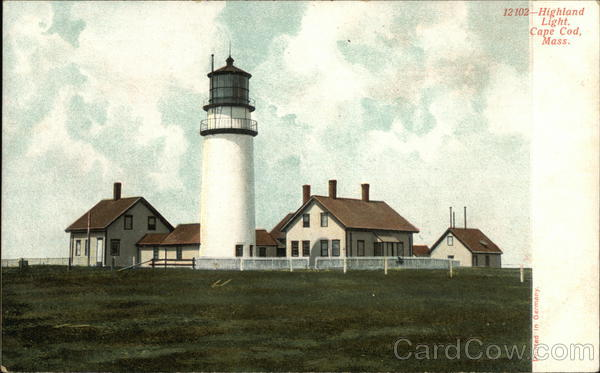 Highland Light, Capr Cod North Truro Massachusetts