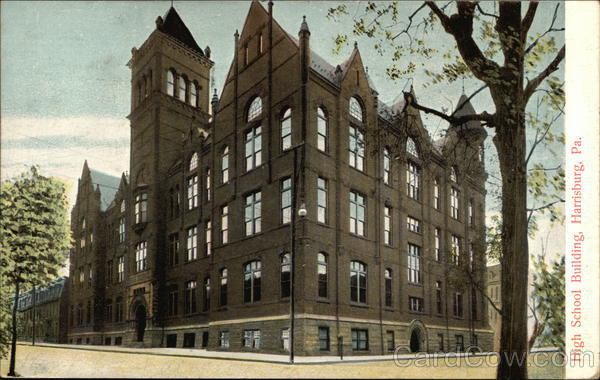 High School Building Harrisburg Pennsylvania