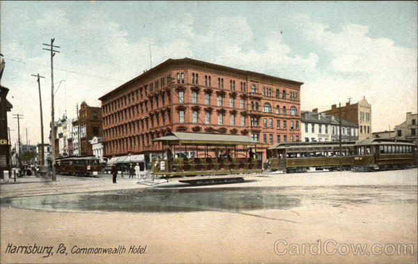 Commonwealth Hotel Harrisburg Pennsylvania