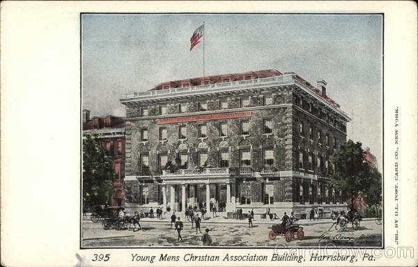 Young Mens Christian Association Building Harrisburg Pennsylvania