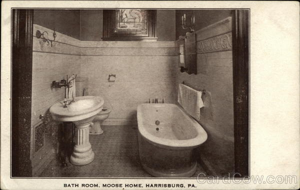 Bath Room, Moose Home Harrisburg Pennsylvania