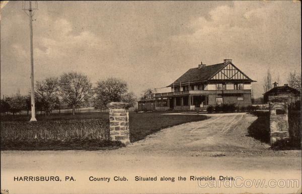 Country Club Situated Along the Riverside Drive Harrisburg Pennsylvania