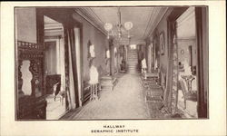 Hallway, Seraphic Institute