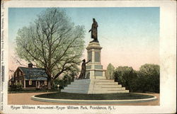 Roger Williams Monument Postcard