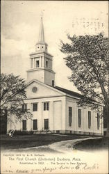 The First Church (Unitarian) Postcard