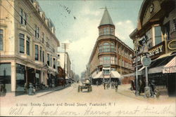 Trinity Square and Broad Street