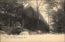 View of Ship Rock