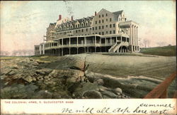 The Colonial Arms Postcard
