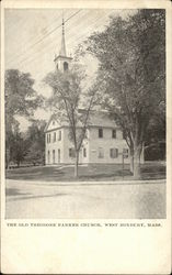 Old Theodore Parker Church