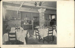 Dining Room of the Weldon