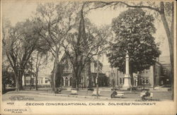 Second Congregational Church and Soldier's Monument
