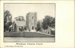 Winchester Unitarian Church Postcard