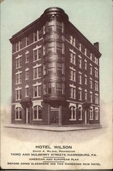 Hotel Wilson, Third and Mulberry Streets