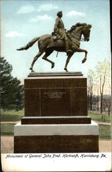 Monument of General John Fred. Hartranft