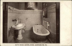 Bath Room, Moose Home