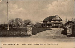 Country Club Situated Along the Riverside Drive