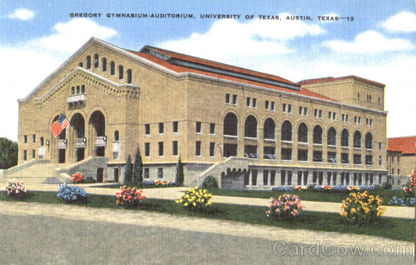 Gregory Gymnasium Auditorium Austin Texas
