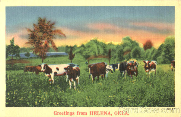 Greetings From Helena Oklahoma