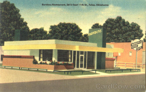 Bordens Restaurant , 2615 East 11th St. Tulsa Oklahoma